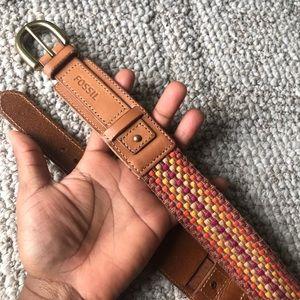 A Brown Fossil Belt. ☺️ #Belt
